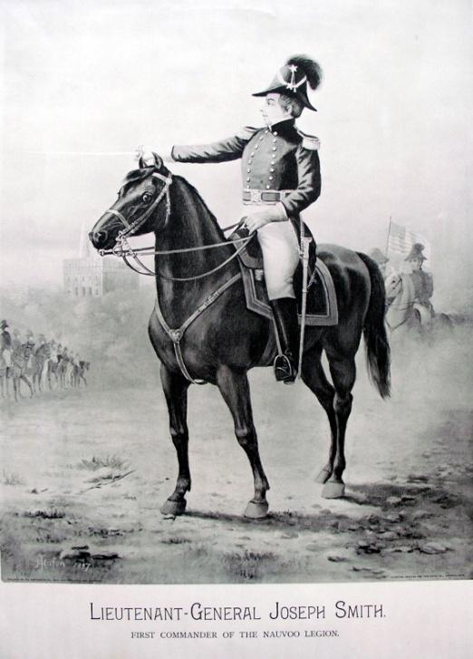 John Hafen - Litografía de Joseph Smith, Jr.